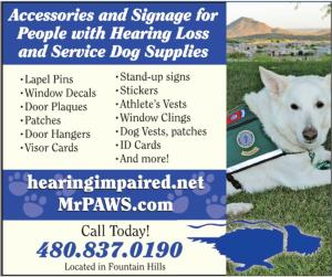 AD for MrPaws.com and hearingimpaired.net